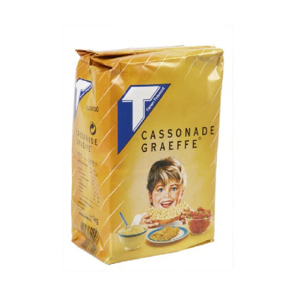 Tirlemont Cassonade - Graeffe 1Kg - Sugars - Tirlemont