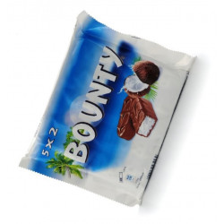 BOUNTY milk chocolate 10 x 57 g - Candybars -