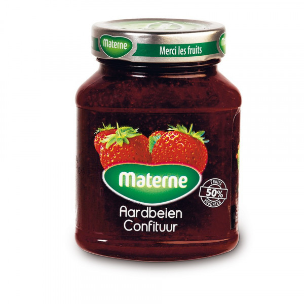 Buy-Achat-Purchase - MATERNE confiture de fraises 450g - Jams - Materne