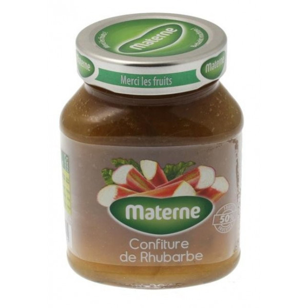 Buy-Achat-Purchase - MATERNE confiture de Rhubarbe 450g - Jams - Materne