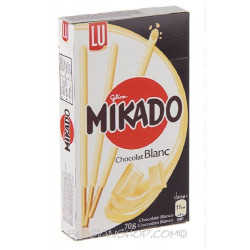 LU MIKADO white chocolate 70 g - Biscuits - LU