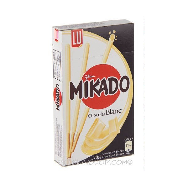 Buy-Achat-Purchase - LU MIKADO white chocolate 70 g - Biscuits - LU
