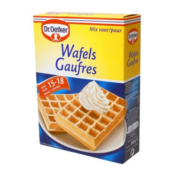 Buy-Achat-Purchase - Waffles MIX 400g - Waffles - Dr Oetker