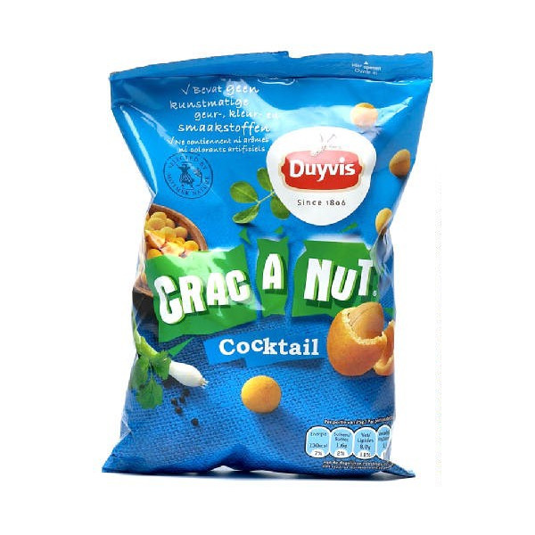 Buy-Achat-Purchase - Duyvis Crac-A-Nut Cocktail 200g - Chips - Duyvis
