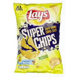 Buy-Achat-Purchase - Super Chips Lays Pickels 200g - Chips - Lays