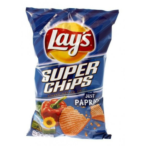 Buy-Achat-Purchase - Super Chips Lays Paprika 200g - Chips - Lays