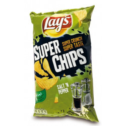 Super Chips Lays Poivre & Sel 200g - Chips - Lays