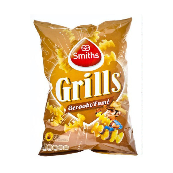 SMITHS Grills fumé 125 g - Chips - Lays