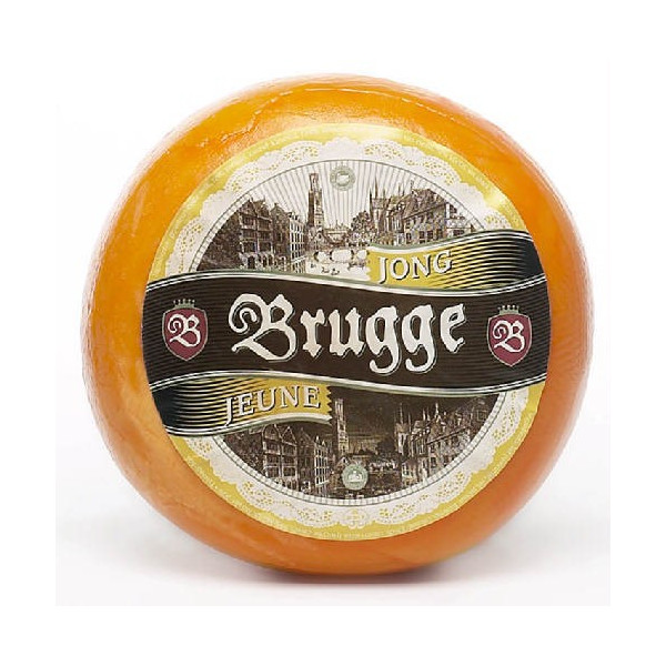 Buy-Achat-Purchase - Jeune BRUGGE Young Gouda, roll ± 900 g - Belgian Cheeses -