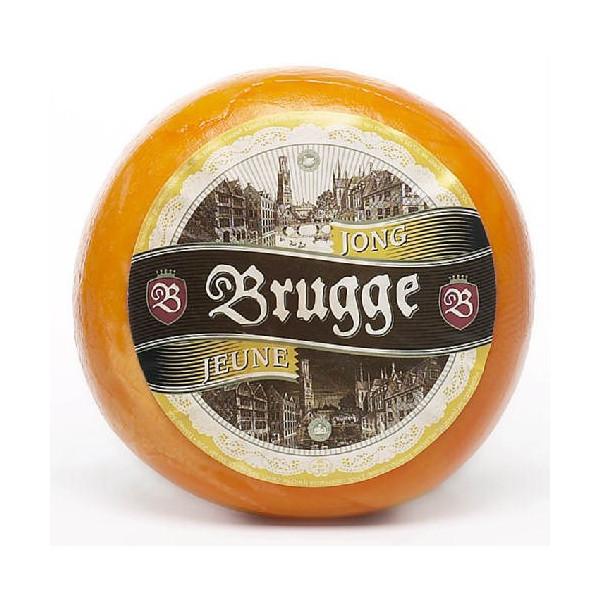 Jeune BRUGGE Young Gouda, roll ± 900 g - Belgian Cheeses -