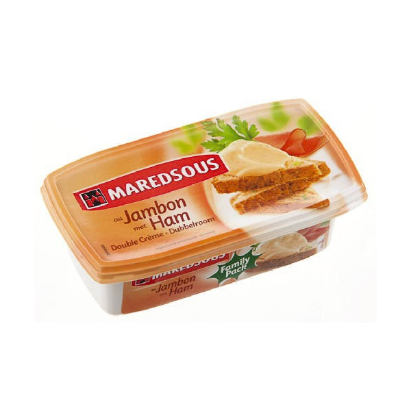 Buy-Achat-Purchase - Maredsous Cream Ham Jambon 250g - Belgian Cheeses - Maredsous
