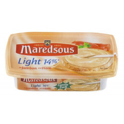 Buy-Achat-Purchase - Maredsous Double Cream LIGHT Ham Jambon 250g - Belgian Cheeses - Maredsous