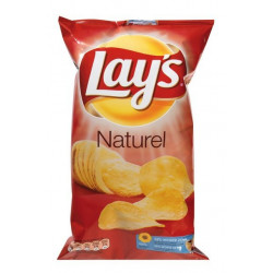 Buy-Achat-Purchase - Chips Lays Naturel 250g - Chips - Lays