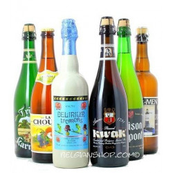 Buy-Achat-Purchase - 6X75cl Belgian Beers Pack - Beers Gifts -