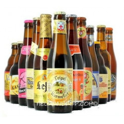 Buy-Achat-Purchase - 12 Belgian Beers Pack - Beers Gifts -