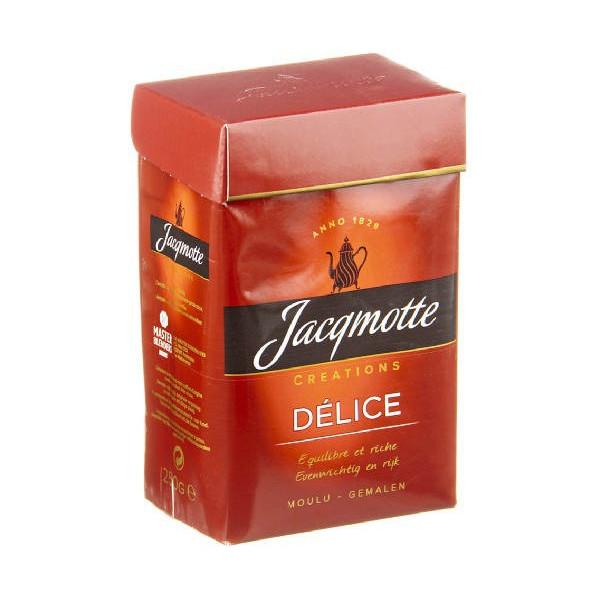 JACQMOTTE Creations Délice moulu 250 g - Coffee - Jacqmotte