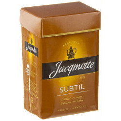 Buy-Achat-Purchase - JACQMOTTE Creations Subtil moulu 250 g - Coffee - Jacqmotte