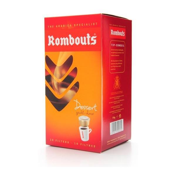 ROMBOUTS café-filt. Dessert Classic 10 p - Coffee - Rombouts