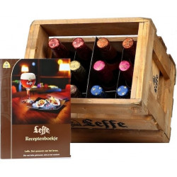 Buy-Achat-Purchase - Wooden Tasting Pack Leffe 6 X 2 X 33cl - Beers Gifts - Leffe