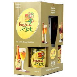Buy-Achat-Purchase - Brugse Zot Pack 4x33cl + 1glass - Home -