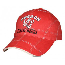 Gordon Finest Beers CAP Red - MERCHANDISING  -