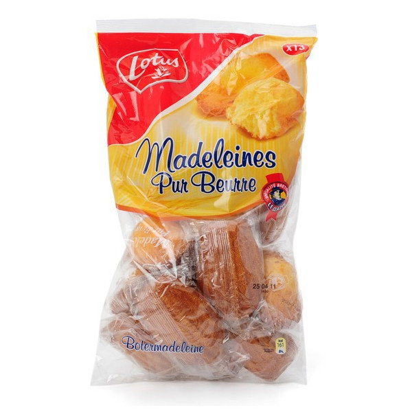 "LOTUS 13 Madeleine \""pure butter\\"" 440 g - Biscuits - Lotus"