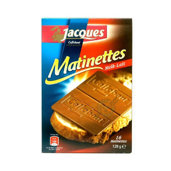 Buy-Achat-Purchase - JACQUES Matinettes chocolat lait 128 g - Jacques-Callebaut - Jacques