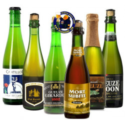 Buy-Achat-Purchase - GUEUZE TASTING PACK 6x37,5cl - Geuze Lambic Fruits -