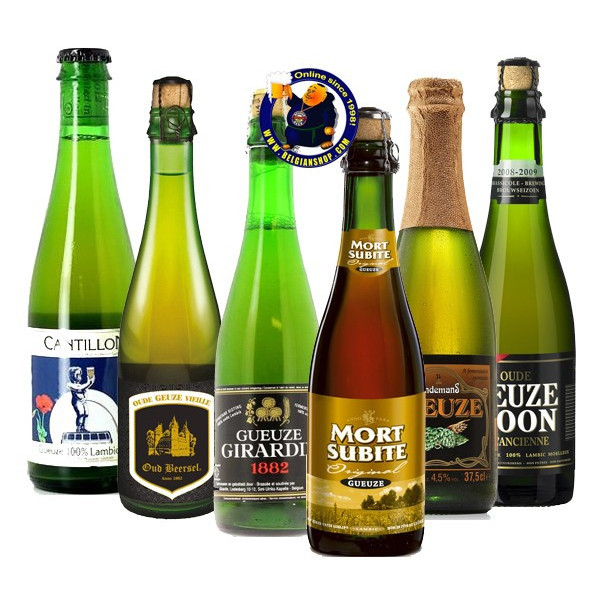 GUEUZE TASTING PACK 6x37,5cl - Geuze Lambic Fruits -