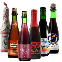Buy-Achat-Purchase - KRIEK TASTING PACK 6x37,5cl - Geuze Lambic Fruits -