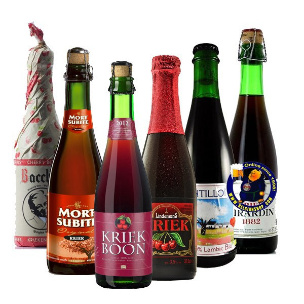 KRIEK TASTING PACK 6x37,5cl - Geuze Lambic Fruits -