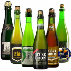 Buy-Achat-Purchase - OUDE GUEUZE TASTING PACK 6x37,5cl - Geuze Lambic Fruits -