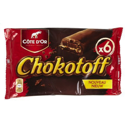 COTE D'OR Chokotoff bars 6x32gr - Cote d'Or -