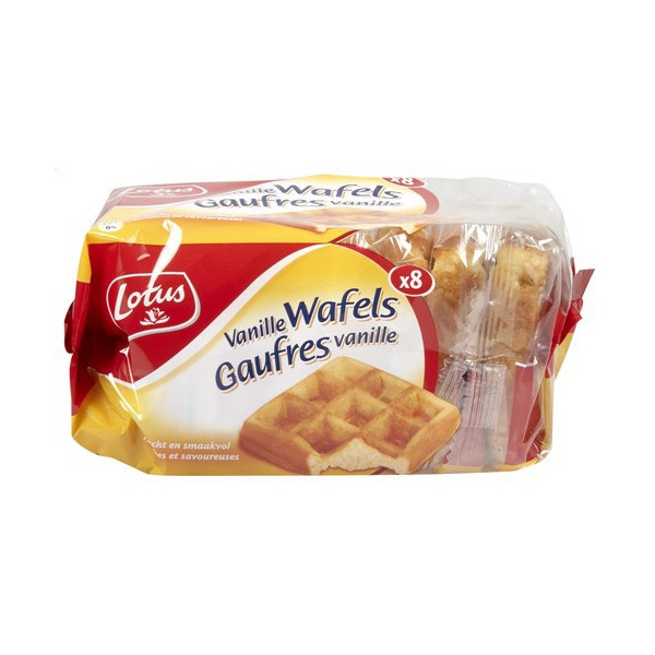 LOTUS 8 waffles vanille 224 g - Belgian Waffles - Lotus