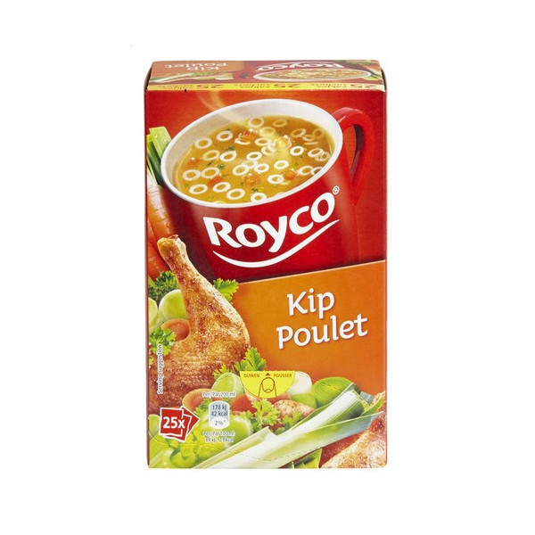 Buy-Achat-Purchase - ROYCO® MINUTE SOUP Poulet X 25 - Soups - Royco