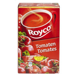 Buy-Achat-Purchase - ROYCO® MINUTE SOUP Tomates X 25 - Soups - Royco