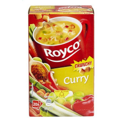 Buy-Achat-Purchase - ROYCO® MINUTE SOUP CRUNCHY Curry X 20 - Soups - Royco