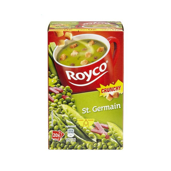 Buy-Achat-Purchase - ROYCO® MINUTE SOUP CRUNCHY St. Germain X 20 - Soups - Royco