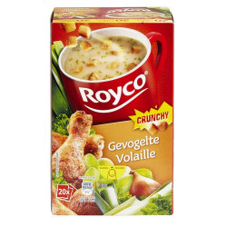 Buy-Achat-Purchase - ROYCO® MINUTE SOUP CRUNCHY Volaille X 20 - Soups - Royco