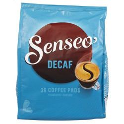 SENSEO Decaffeinated 36 pads - Coffee - Douwe Egberts