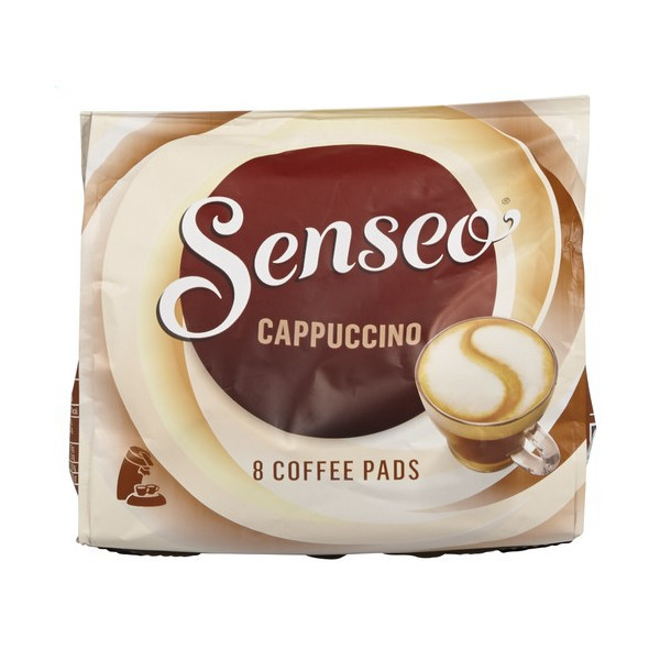 Buy-Achat-Purchase - SENSEO Cappuccino 8 pads - Coffee - Douwe Egberts