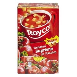 Buy-Achat-Purchase - ROYCO® MINUTE SOUP CRUNCHY Suprême de Tomates X 20 - Soups - Royco
