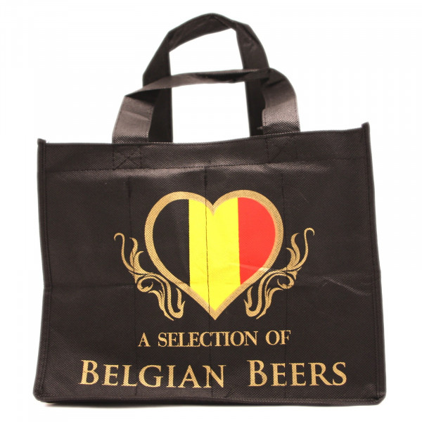 BELGIAN BEERS BAG FOR 8 X 33CL - MERCHANDISING  -