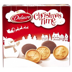 DELACRE Christmas Time 250 g - Biscuits - Delacre