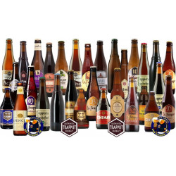 Buy-Achat-Purchase - The SUPER Trappist pack 30 bottles - Trappist beers -