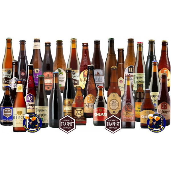 The SUPER Trappist pack 30 bottles - Trappist beers -