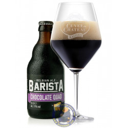 Buy-Achat-Purchase - Kasteel Barista Chocolate Quad 11° - 1/3L - Christmas Beers -