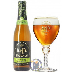 Buy-Achat-Purchase - Leffe Royale Cascade IPA 7.5° - 1/3L - Abbey beers -