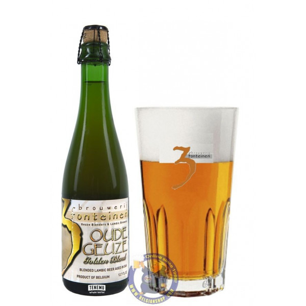 Buy-Achat-Purchase - 3 Fonteinen Oude Geuze Golden Blend 7.5° - 37,5cl - Geuze Lambic Fruits -