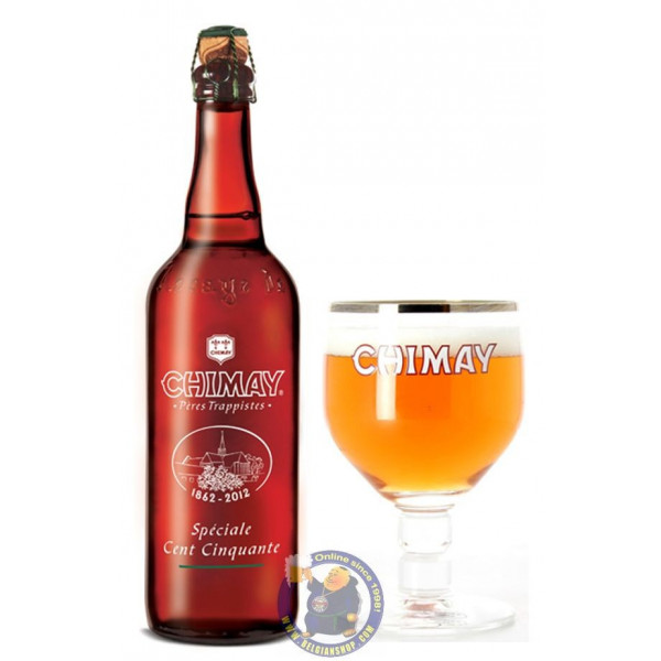 Chimay 150 / Spéciale Cent Cinquante 10° - 3/4L - Trappist beers -